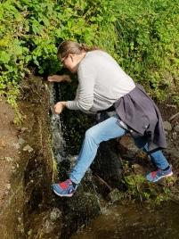 Man behøver ikke nyte medbrakt vann / No need to bring water along
