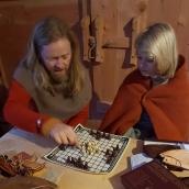 Sigvald handlet seg nytt brettspill, Hnefatafl / Sigvald bought himself a Viking board game, Hnefatafl