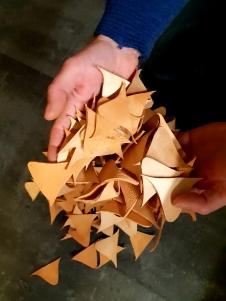 Maaaange trekanter / Lots of triangular wedges