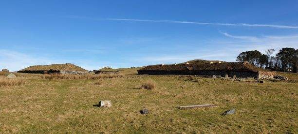 Oversiktsbilde over Jernaldergården / Overview of the Iron Age Farm
