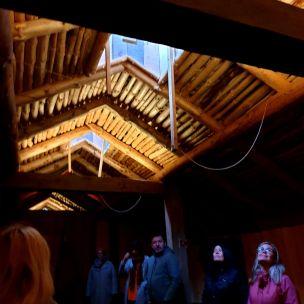 I lyset fra ljorene / Under the light openings