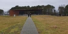 På vei til visningssenteret / On our way to the visitor center